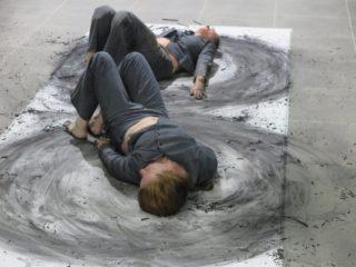 To, co pozostaje i ma się stać - Irvine i Brown - Konteksty Festiwal Sztuki Efemerycznej 2015 / Sokołowsko / fot. Jerzy Grzegorski / Marcin Polak