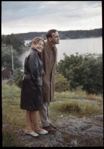 Tadeusz Kantor i Maria Stangret, fot. © Maria Stangret oraz Dorota Krakowska