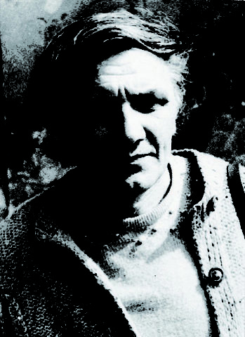 Andrzej Partum, Warszawa 1984, fot. Jerzy Truszkowski