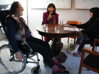 Zygmunt Rytka, Dorota, Bożenna (fot. Ayano Shibata)
