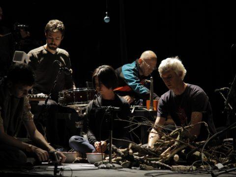 Dry Mountain Orchestra gra Christiana Wolffa  / Sanatorium dźwięku 2017 / Sokołowsko