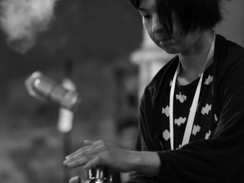 Ryoko Akama / Gerard Lebik / Sanatorium dźwięku 2017 / Sokołowsko