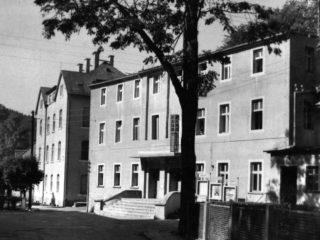 Budynek przedwojennego budynku Hotelu Bergland / The building of the pre-war Hotel Bergland