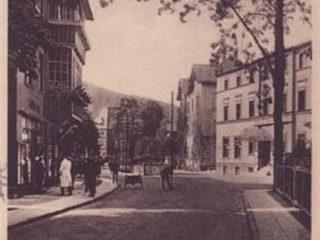 Ul. Główna ok. 1927 r. / Główna St. aprox.1927