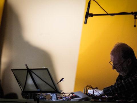 KEITH ROWE & MICHAEL PISARO – VENERABLE BEDE Sanatorium Dźwięku 2016 fot. Tomek Ogrodowyczk
