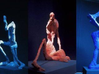 Bożenna Biskupska. Rzeźba: Siedzący, Organizm, Jednonogi
