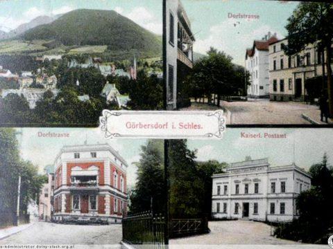 Poczta Królewska i widoki z Sokołowska / The Royal Mail and the landscape of Sokołowsko