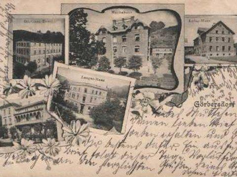 Sokołowsko na początku XX wieku / Sokolowsko the early twentieth century.